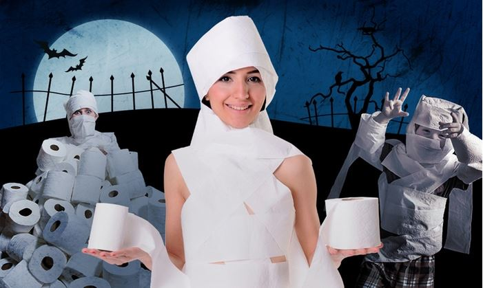 Win a DIY Mummy Costume this Halloween